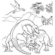 pteranodon pterosaur coloring page free coloring pages online
