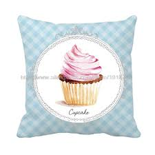 Customized Cushion Covers Online Get Cheap Cupcakes Printed Pillow Case Aliexpress Com