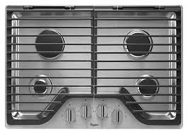 Gas Cooktop Dimensions 30 Inch Gas Cooktop With Multiple Speedheat Burners Whirlpool