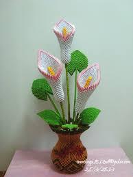 3d Origami Flower Vase Tutorial 3d Origami Calla Lil U2026 Album Nga 3d Origami Art Papel