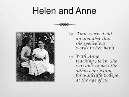 How Old Was Helen Keller When She Became Blind Helen Keller Presentation