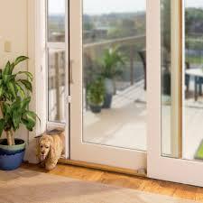 Glass Door With Dog Door Built In by Doors Astounding Petsafe Dog Door Door With Dog Door Built In