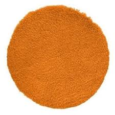 Orange Bathroom Rugs Contemporary Home Bath Rug Super Orange 24 Round By Target