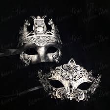 masquerade mask for couples masquerade masks platinum silver themed platinum