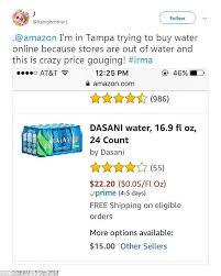 what will be available online for black friday amazon amazon under fire for alleged price gouging in florida daily