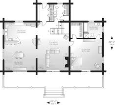 A Frame Floor Plan Spencer Hill Luxury Log Home Plan 032d 0352 House Plans And More