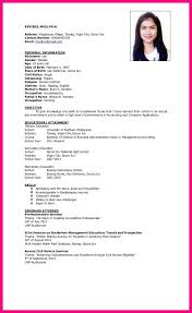 Example Of Resume For Students by Sample Of Resume For Bsba Ojt Resume Ixiplay Free Resume Samples