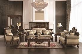 Gold Fabric Sofa Rians 2 Piece Living Room Set By Homey Design Hd 296