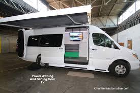 Van Awnings Mercedes Benz Sprinter Van Tailgating Conversions