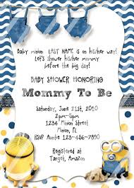 minion baby shower minion ba shower invitations customize instant within