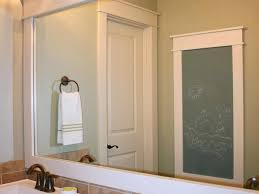 Wood Frames For Bathroom Mirrors Enchanting Wood Framed Bathroom Mirrors And Innovative Wood Framed