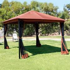 Patio Gazebo 10 X 12 Outdoor Backyard Regency Patio Canopy Gazebo Tent With