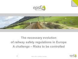Challenge Risks Re E Irsc 27 09 10 09 1 The Necessary Evolution Of Railway