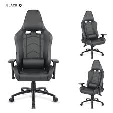 gaming desk chair costway race car style seat office chair
