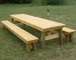 Build A Picnic Table Kit by Picnic Table Etsy