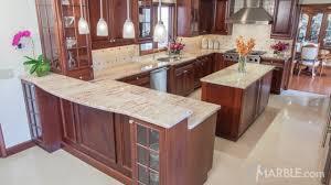 brown kitchen granite counters