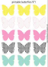 free printable pastel colored butterflies schmetterling