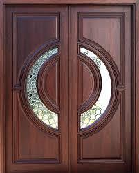 Wood Door Exterior House Front Door Design Best 25 Exterior Doors With Glass