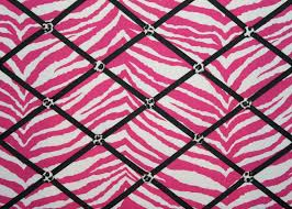 confortable pink black and white zebra print easy home decoration