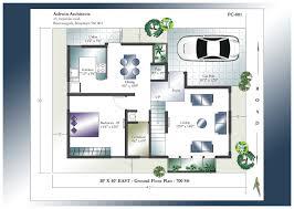 Floor Plans For Duplex Houses 30 40 Duplex House Plans House Plans