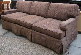 Henredon Settee Uhuru Furniture U0026 Collectibles Henredon Paisley Sofa Sold