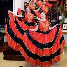 aliexpress com buy flamenco skirt 360 spanish senorita flamenco