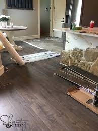 laminate flooring in my kitchen shanty 2 chic