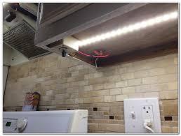 installing led strip lights under kitchen cabinets cabinet