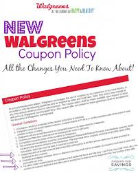 walgreens thanksgiving day ad new walgreens coupon policy changes 2014