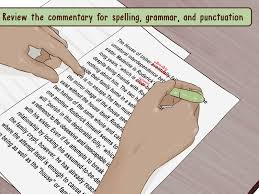 quote within a quote grammar how to write a literary commentary with examples wikihow