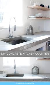 Home Made Modern by Homemade Modern Ep87 Concrete Kitchen Countertops