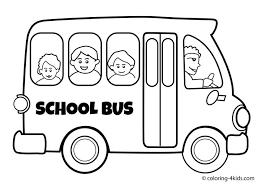coloring elegant bus color preschool