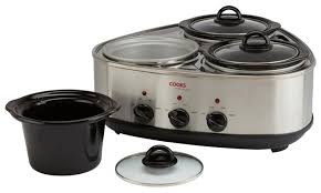 63 off triple or twin pot slow cooker groupon
