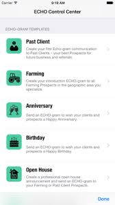 send a birthday gram echo prospect like a real estate rock on the app store