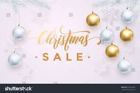 premium luxury christmas sale background holiday stock vector