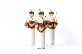thanksgiving boozy bourbon butter pecan milkshake salty canary