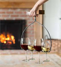 wine flight wine glass holder and server outdoor dining accessories