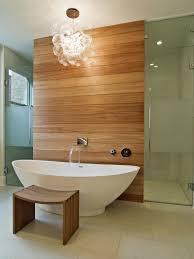 Small Bathroom Chandelier Bathrooms Modern Bathroom With Oval Modern Bathtub And Wooden