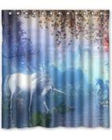 Horse Shower Curtains Sale Fall Into Savings On Creative Bath Galloping Horse Shower Curtain