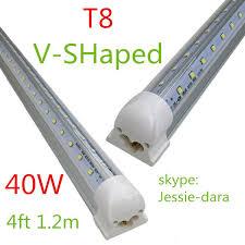 led 4 ft lights x50 integrated cooler door 1 2m 1200mm 4ft 40w led t8 tube smd2835