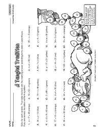 6th grade christmas worksheets worksheets