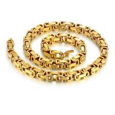 mens byzantine necklace gold images 22 quot 26 quot 28 quot men byzantine chain gold color mens thick gold chain jpg