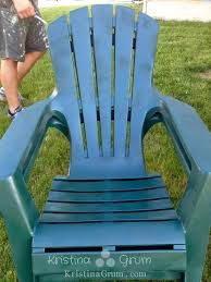 Used Adirondack Chairs Repainting A Plastic Adirondack Chair Thriving Parents
