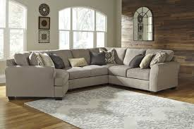 pantomine driftwood left arm facing cuddler end sectional ashley