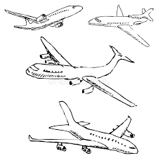 aircraft pencil sketch by hand stock vector image 80843739