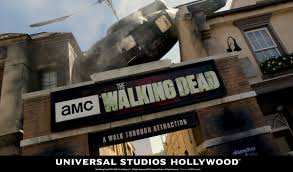halloween horror nights hollywood map blogs the walking dead the walking dead has a starring role at