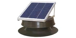 best solar attic fans 10 top solar powered attic fans