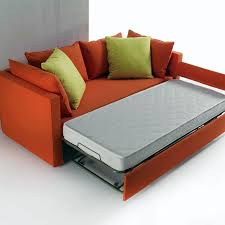 ontemporary living room ideas with premium orange bed hide a bed