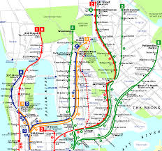Hopstop Nyc Subway Map by Bronx Map Street Images