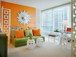 this 7 orange living room design ideas and color cobinations read